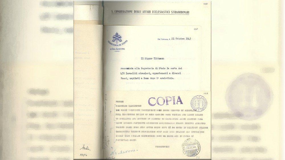 Archivo del pontificado de Pío XII © Vatican Media