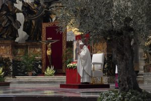 Misa de Pascua de Resurrección, 12 abril 2020 © Vatican Media