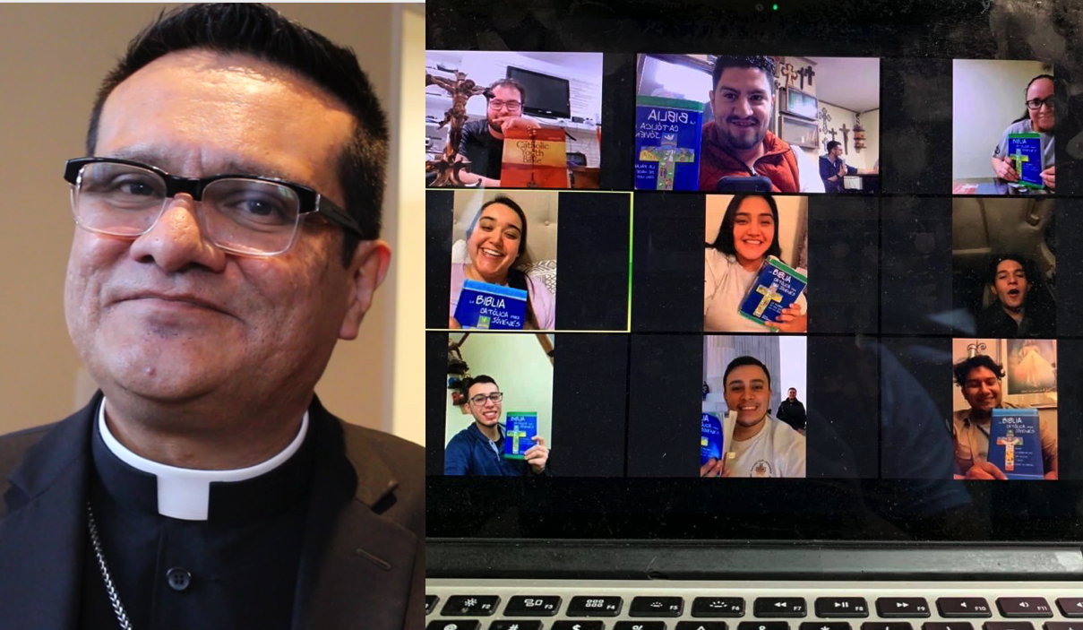 Obispo Arturo Cepeda © Enrique Soros – Pastoral virtual © Adriana Visoso