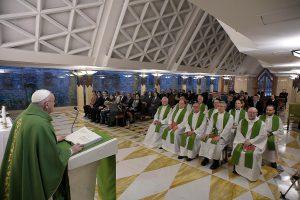 Sainte-Marthe, 25 février 2020 © Vatican Media