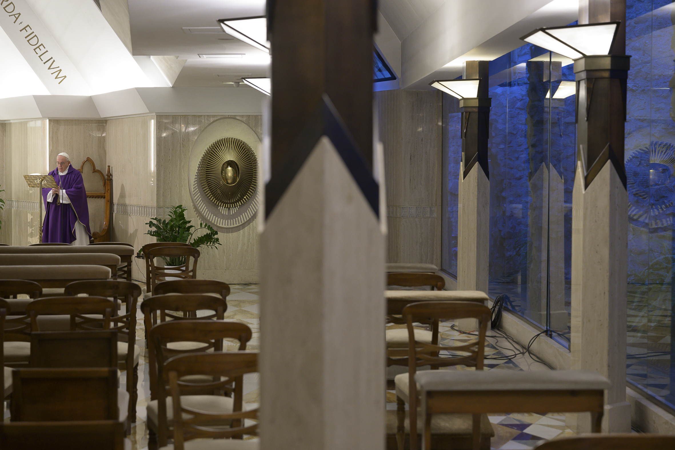 Sainte-Marthe, 31 mars 2020 © Vatican Media