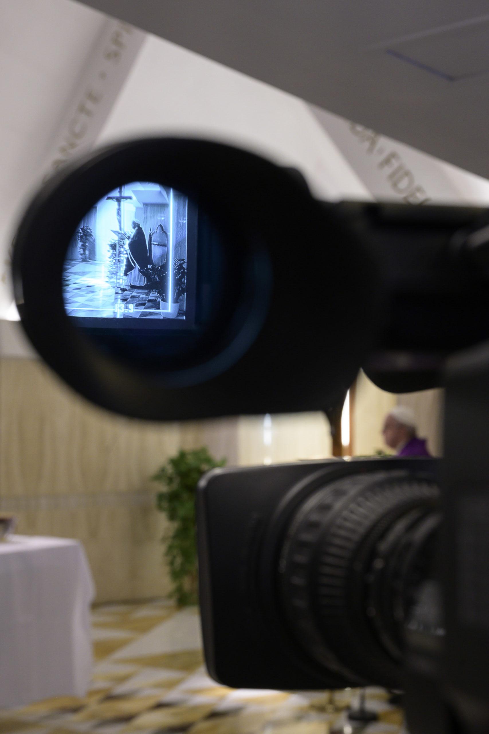 Sainte-Marthe, messe du 27 mars 2020 © Vatican Media