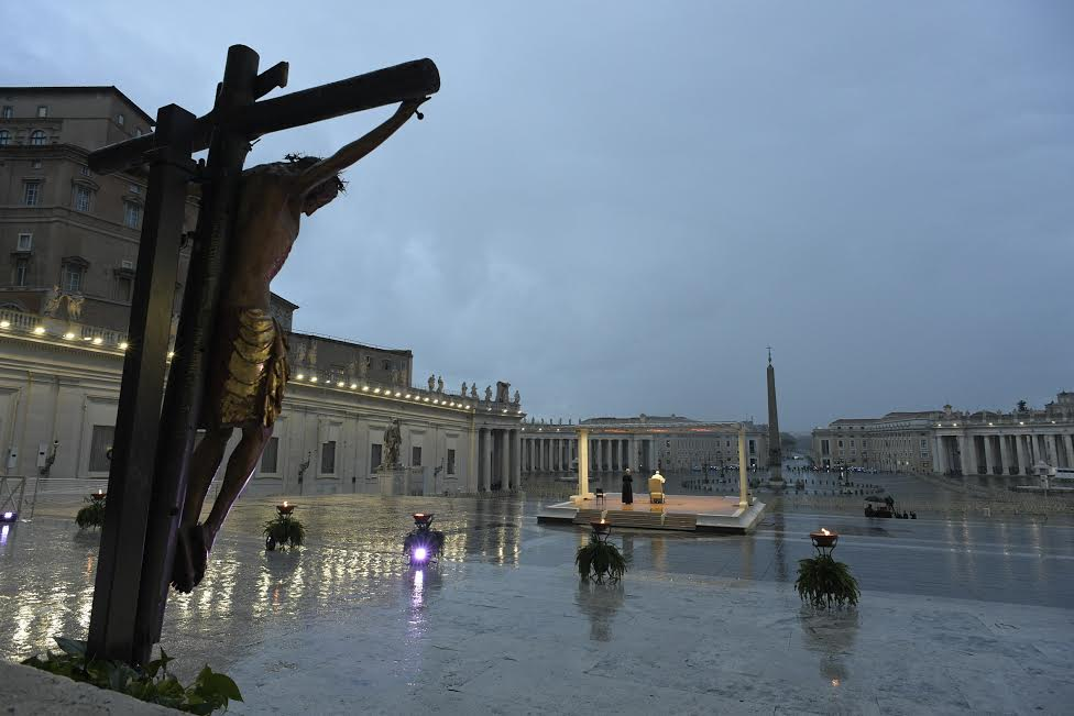 Urbi et Orbi extraordinaire 27 mars 2020 © Vatican Media