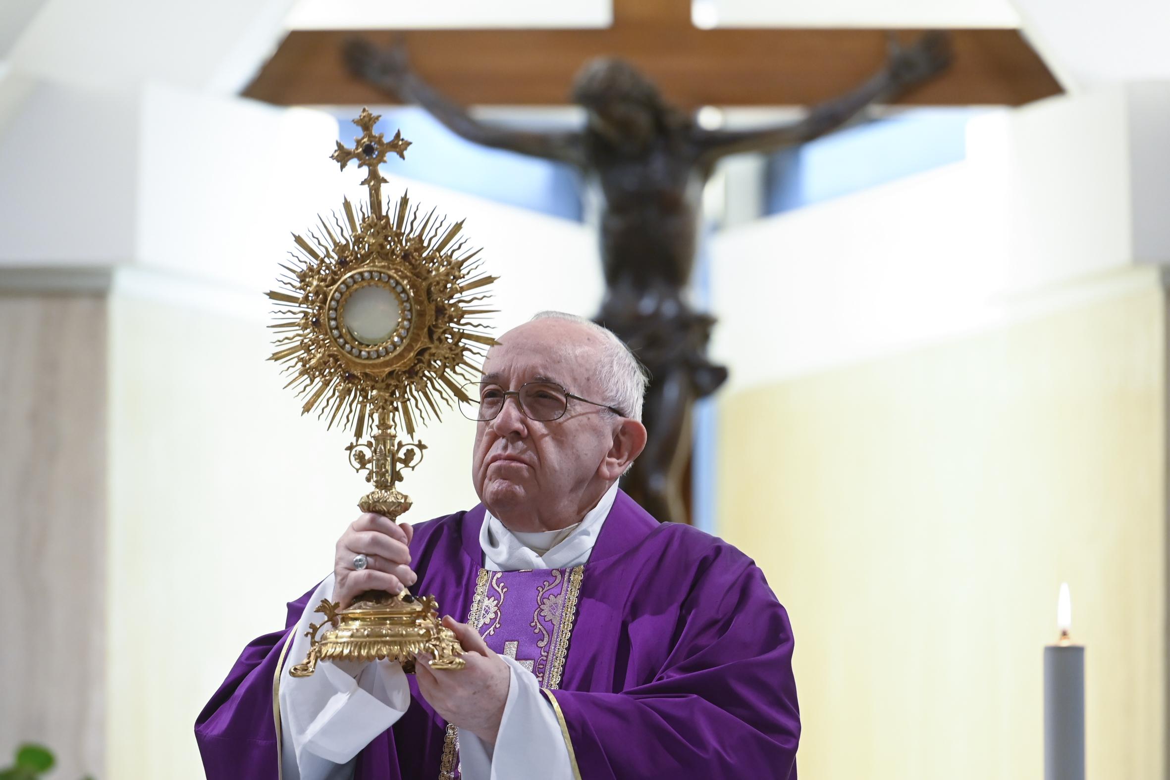 Sainte-Marthe, 26 mars 2020 © Vatican Media