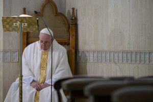 Sainte-Marthe, 19 mars 2020 © Vatican Media