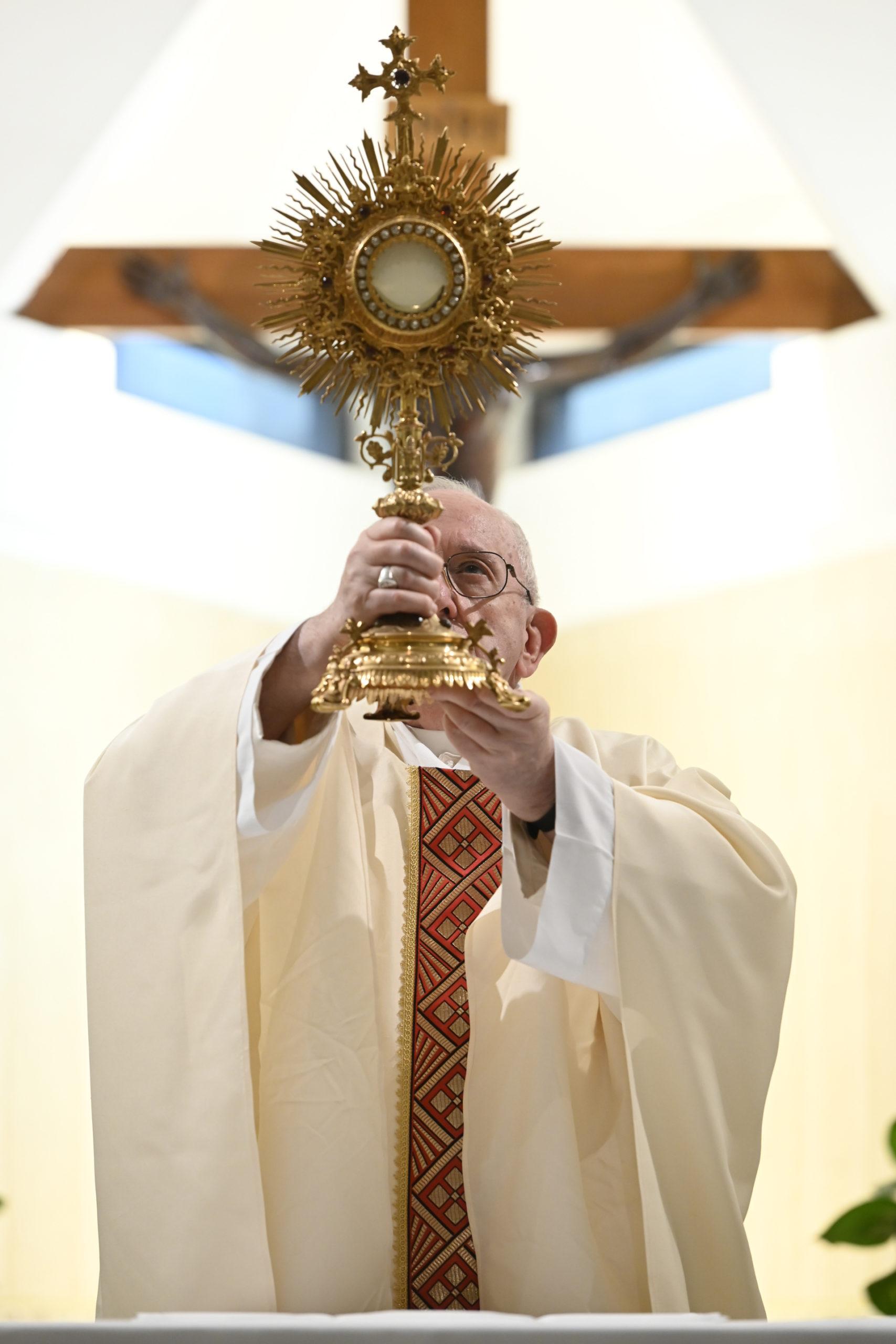 Messe à Sainte-Marthe, 21 avril 2020, @ Médias du Vatican