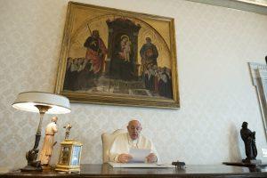 Message vidéo aux familles © Vatican Media