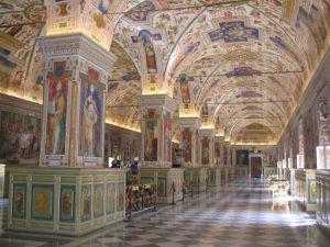 Salle Sixtine de la Bibliothèque apostolique vaticane