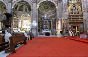 Messe de la Divine miséricorde, 19 avril 2020 © Vatican Media