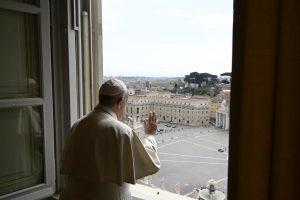 Regina Caeli, bénédiction, 13 avril 2020 © Vatican Media